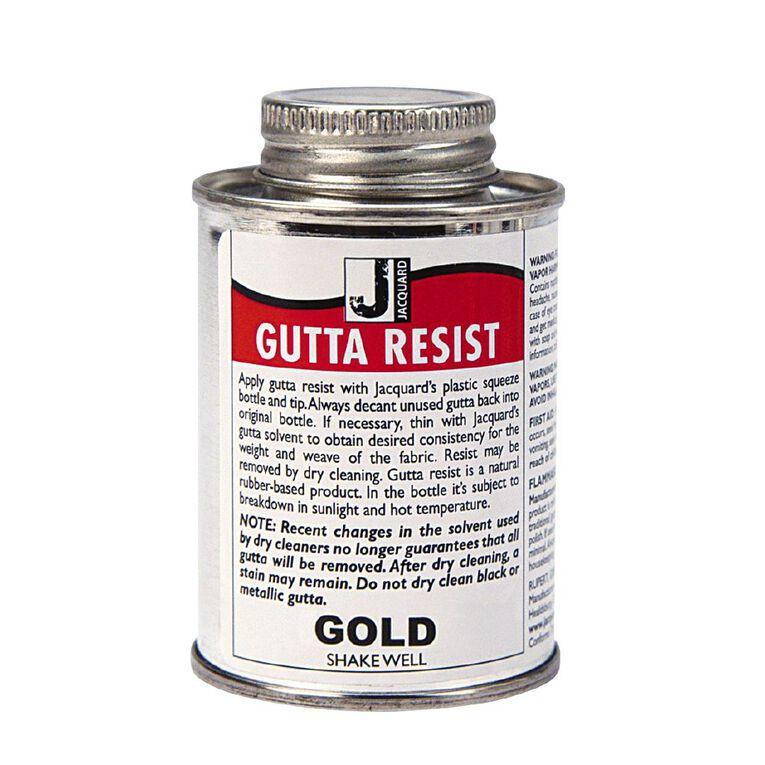 Jacquard Gutta Resist 118.29ml Gold Metallic, , hi-res