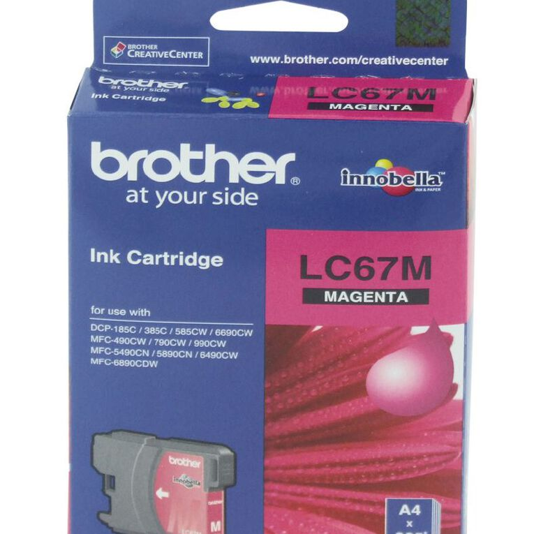 Brother Ink LC67 Magenta (325 Pages), , hi-res