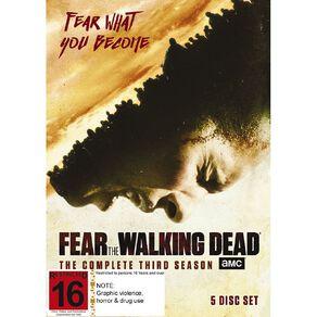 Fear The Walking Dead S3 DVD 5Disc