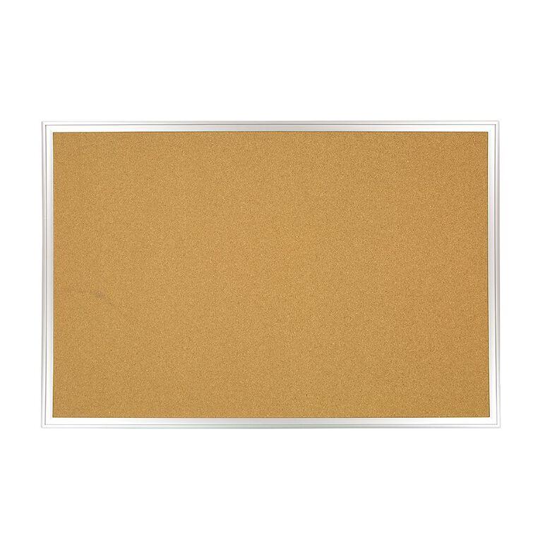 WS Aluminium Cork Board 600mm x 900mm, , hi-res