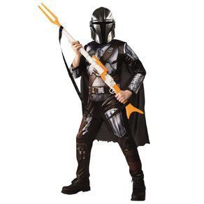Star Wars The Mandalorian Deluxe Childs Costume Size 3-5