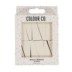 Colour Co. Beauty Wedge Sponges 12 Pack
