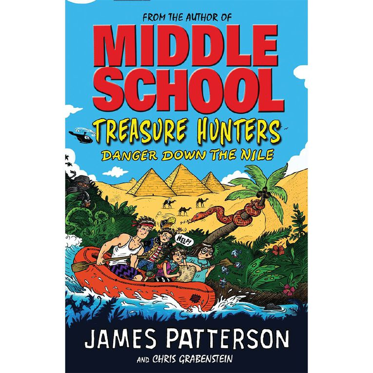 Treasure Hunters #2 Danger Down the Nile by James Patterson, , hi-res
