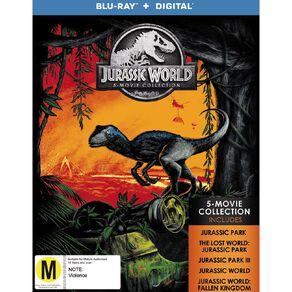 Jurassic 5 Movie Pack Blu-ray 5Disc