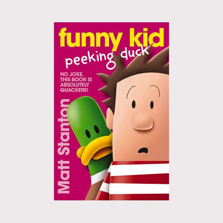 Funny Kid #7 Peeking Duck by Matt Stanton, , hi-res