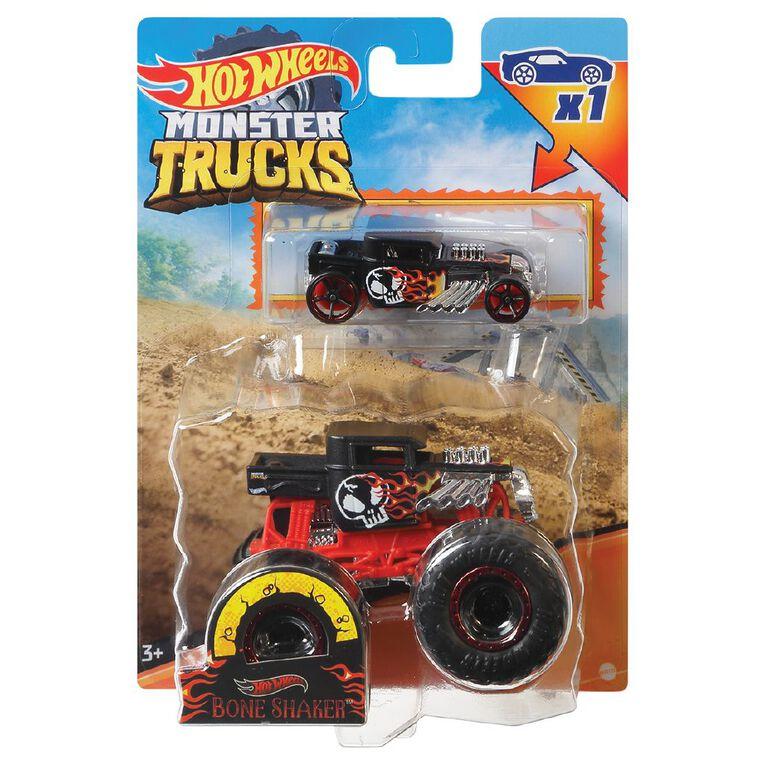 Hot Wheels Monster Truck 1:64 Scale Plus Promo Car, , hi-res