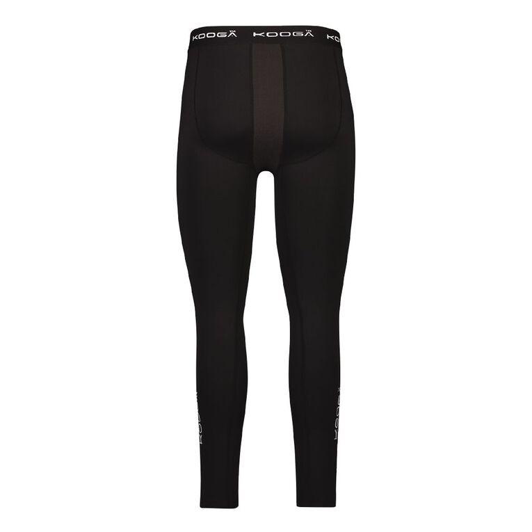 Kooga Men's Compression Pants, Black, hi-res image number null