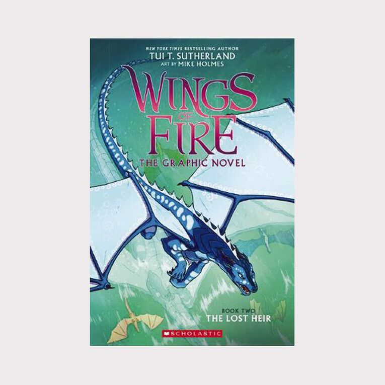 Wings of Fire Graphic #2 The Lost Heir by Tui T Sutherland, , hi-res image number null