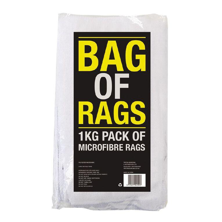 Bag of Rags Assorted Colours 1kg, , hi-res