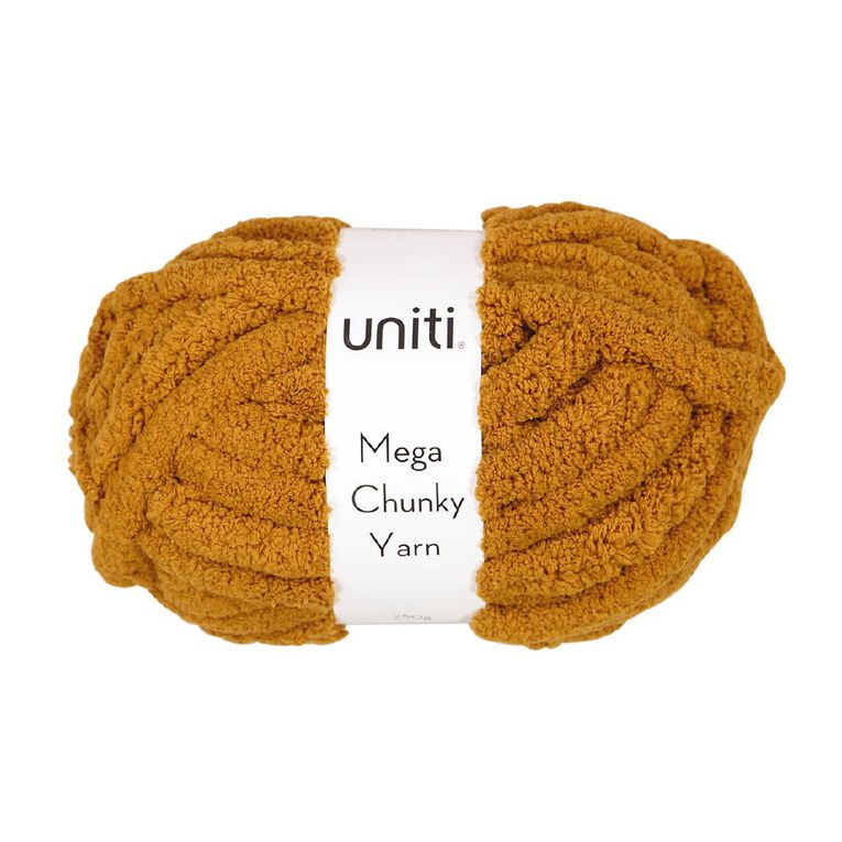 Uniti Yarn Mega Chunky 250g Leather, , hi-res