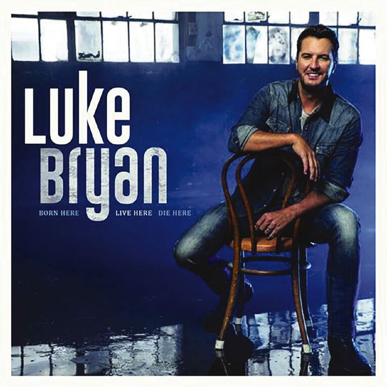 Born Here Live Here Die Here CD by Luke Bryan 1Disc, , hi-res image number null