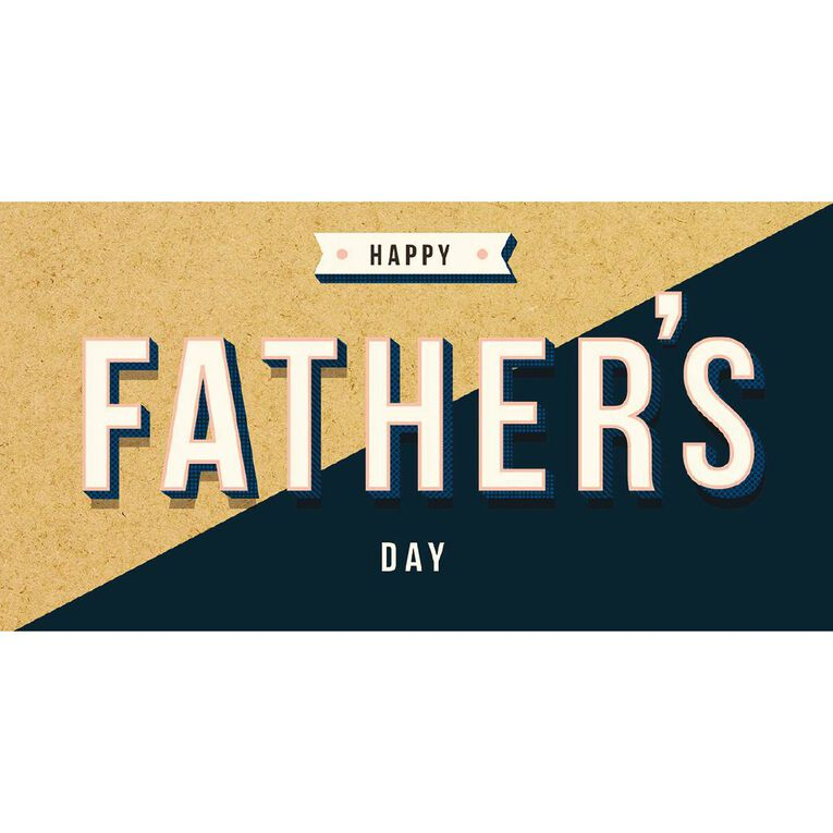 John Sands Father's Day Cards General Wish Happy Fathers Day Text, , hi-res