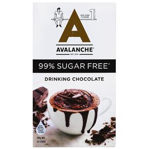 Avalanche 99% Sugar Free Drinking Chocolate 10 Pack
