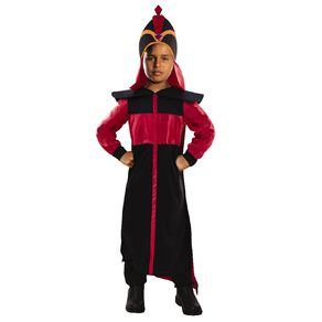 Aladdin Disney Jafar Deluxe Costume 6-8 Years