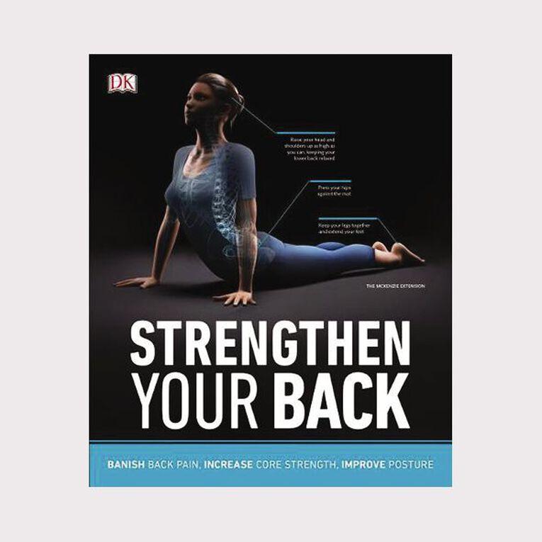 Strengthen Your Back, , hi-res