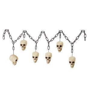 Scarehouse Halloween Skull Chain 1.8m