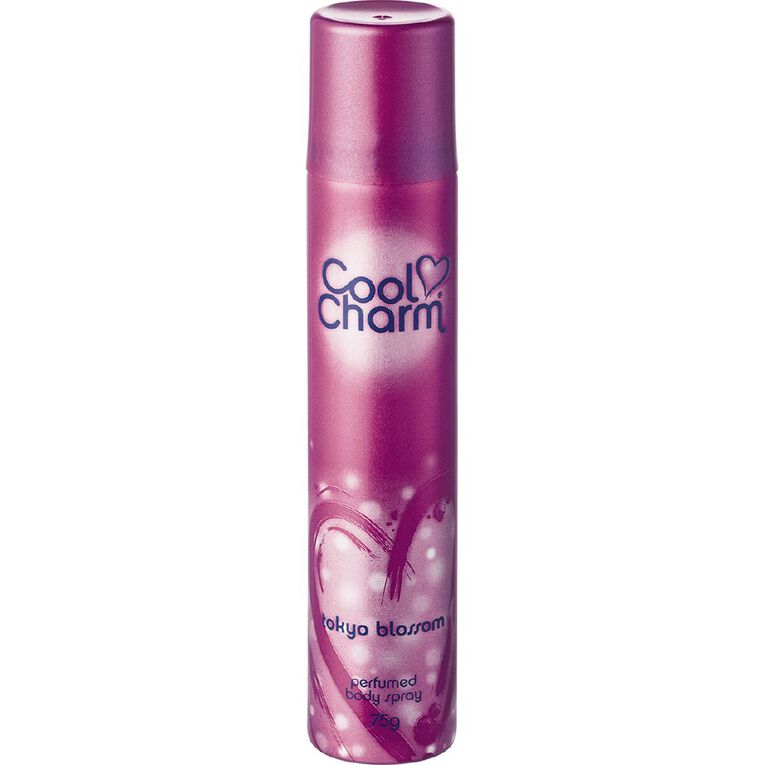 Cool Charm Body Spray Tokyo Blossom 75g, , hi-res