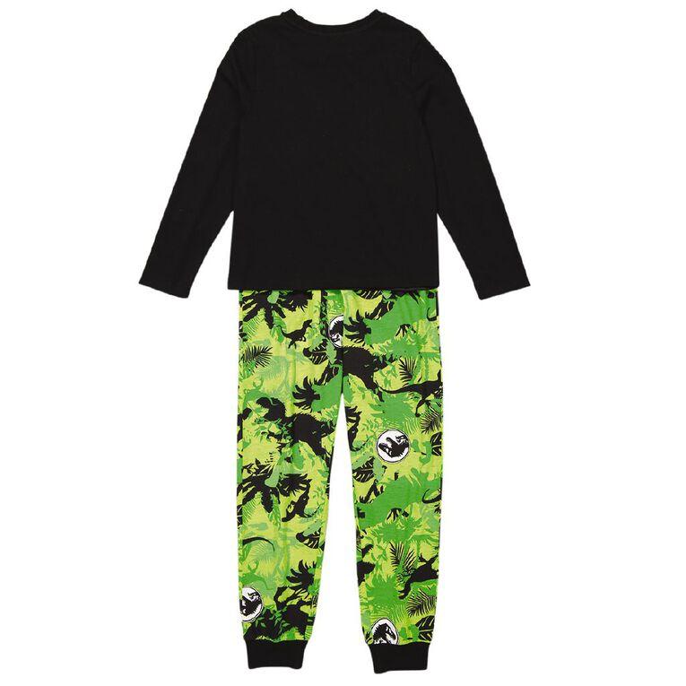 Jurassic World Boys' Knit Pyjamas, Black, hi-res