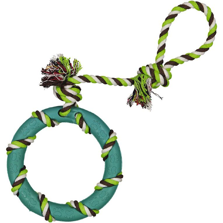 Petzone Rubber Toy with Rope, , hi-res