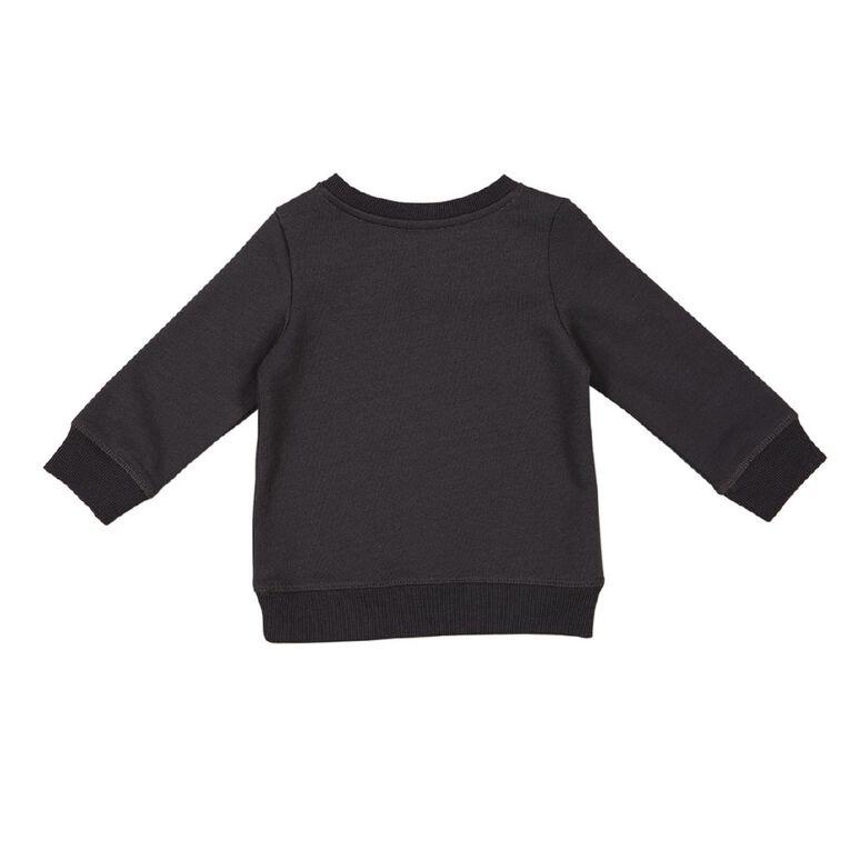 Young Original Baby Printed Sweatshirt, Grey Dark, hi-res