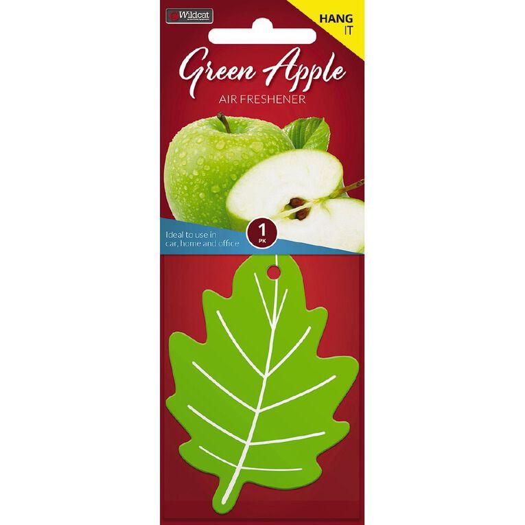 Wildcat Auto Air Freshener Green Apple, , hi-res