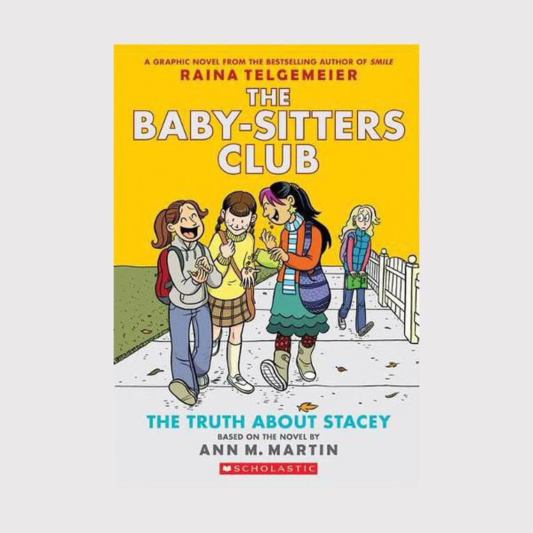 Baby-Sitters Club Graphix #2 The Truth about Stacey by Raina Telgemeier, , hi-res