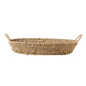 Living & Co Seagrass Tray Natural 43cm x 40cm x 12cm