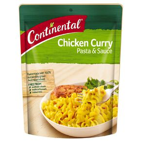 Continental Pasta and Sauce Chicken Curry 90g