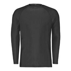 H&H Men's Long Sleeve Plain Rash Vest