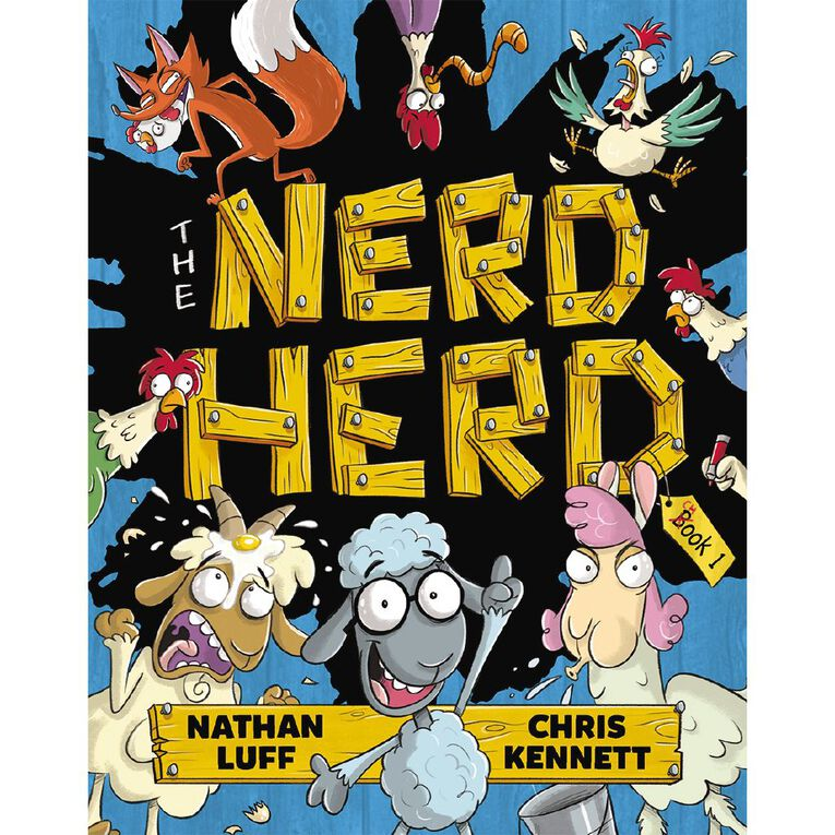 The Nerd Herd #1 by Nathan Luff, , hi-res
