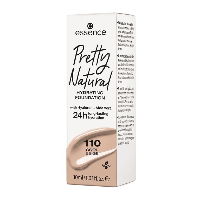 Essence Pretty Natural hydrating foundation 110, , hi-res