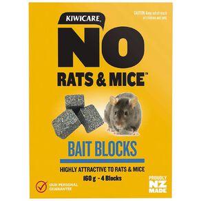 Kiwicare NO Rats & Mice Weatherproof Bait 160g