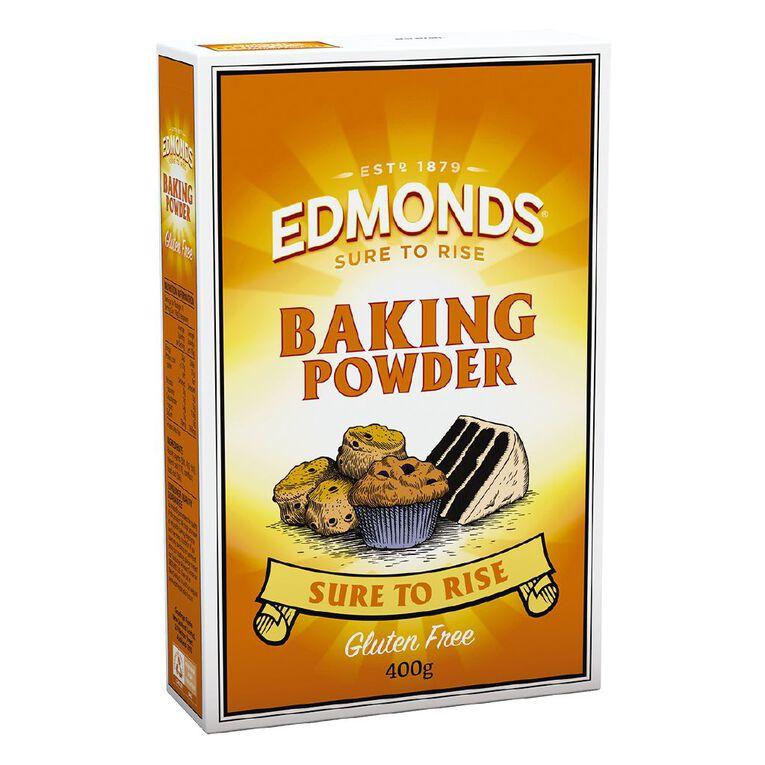 Edmonds Baking Powder Sure to Rise 400g, , hi-res