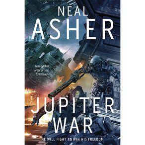 Owner #3 Juliter War by Neal Asher