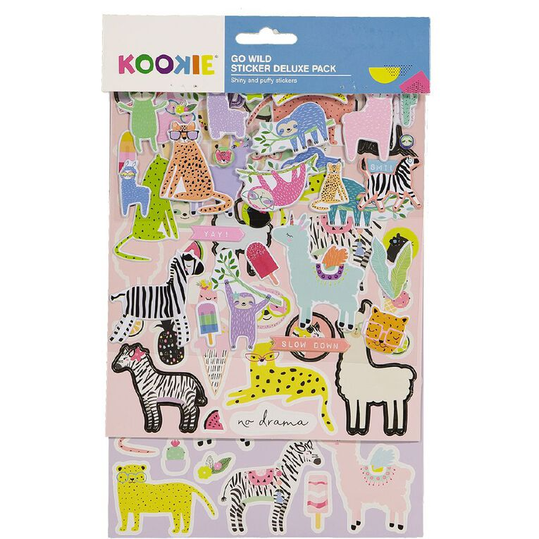 Kookie Sticker Deluxe Pack Go Wild, , hi-res
