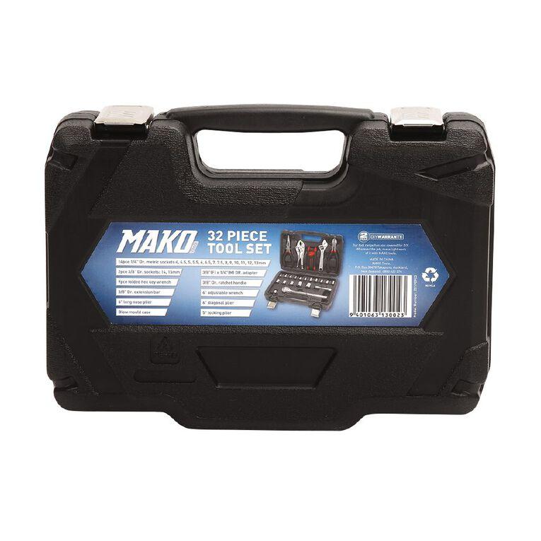 Mako 32 Piece Tool Set, , hi-res