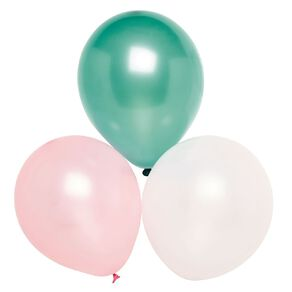 Party Inc Balloons Pearl Colours 25cm 25 Pack