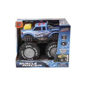 Play Studio Freewheel Monster Truck with Lights and Sounds Assorted