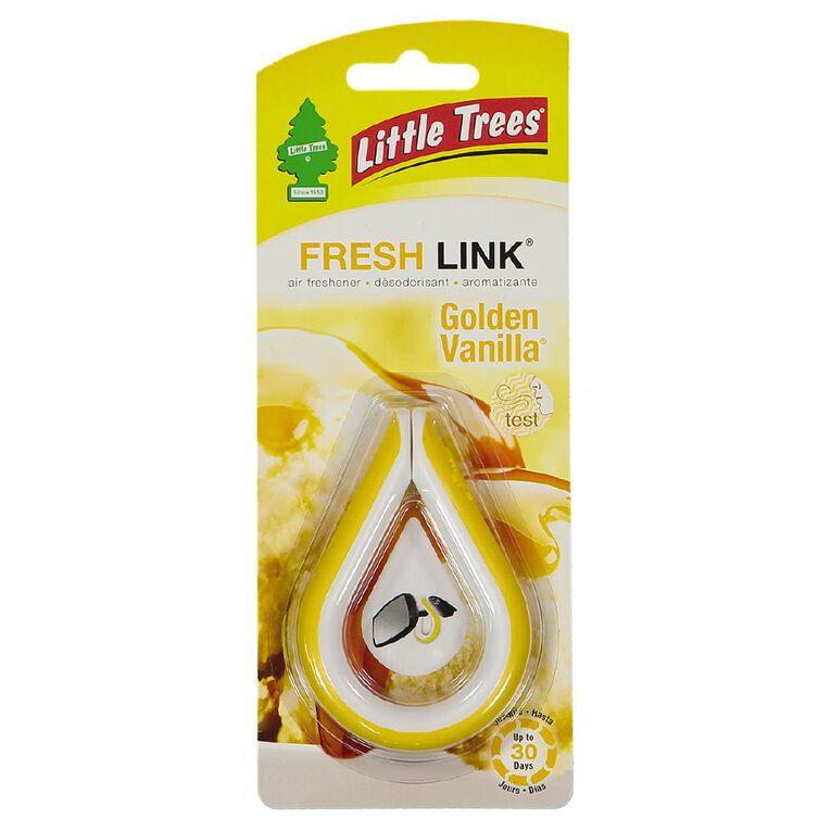 Little Trees Fresh Link Auto Air Freshener Golden Vanilla, , hi-res