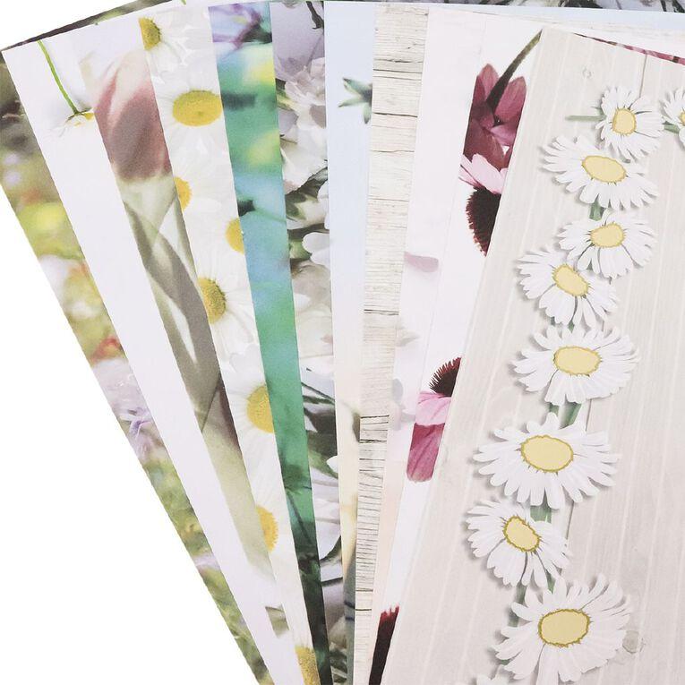 Uniti Wild Stems Paper Pack 12x12 Inch 12 Sheets 220gsm, , hi-res