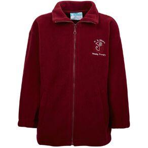 Schooltex Wesley Primary Polar Fleece Jacket with Embroidery