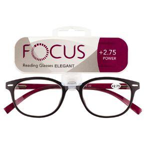 Focus Reading Glasses Elegant Power 2.75