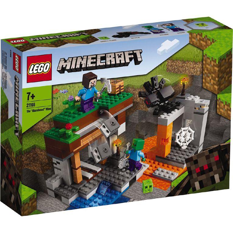 LEGO Minecraft The Abandoned Mine 21166, , hi-res
