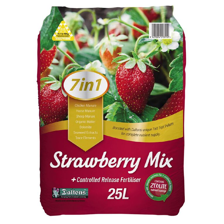 Daltons 7-in-1 Strawberry Mix 25L, , hi-res
