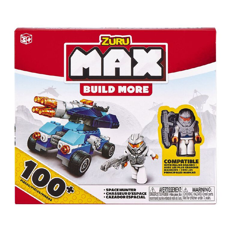 Zuru Max Build More Construction Value Brick Pack 100+ Assorted, , hi-res