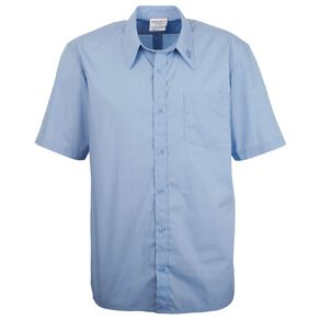 Schooltex Marcellin Short Sleeve Shirt with Embroidery