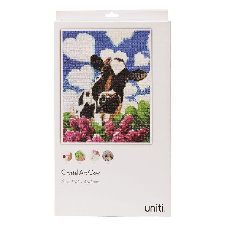 Uniti Crystal Art 35cm x 45cm Cow & Heart Clouds, , hi-res