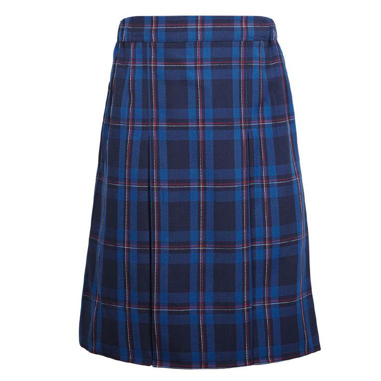 Schooltex Two Pleat Skirt, Schooltex Tartan TRT023, hi-res