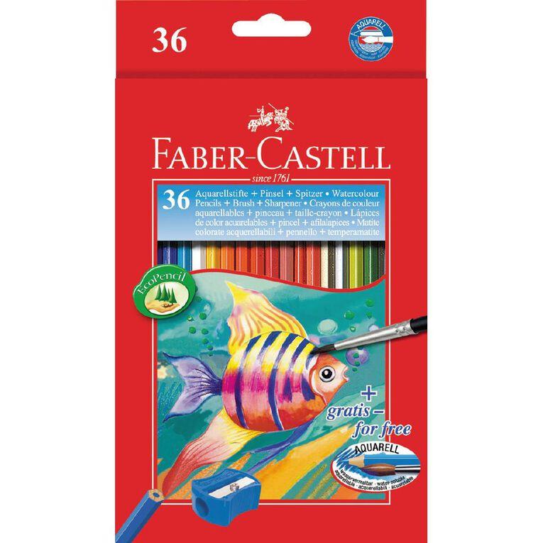 Faber-Castell Watercolour Pencils 36 Pack, , hi-res