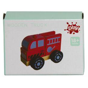 Play Studio Wooden Trucks Assorted